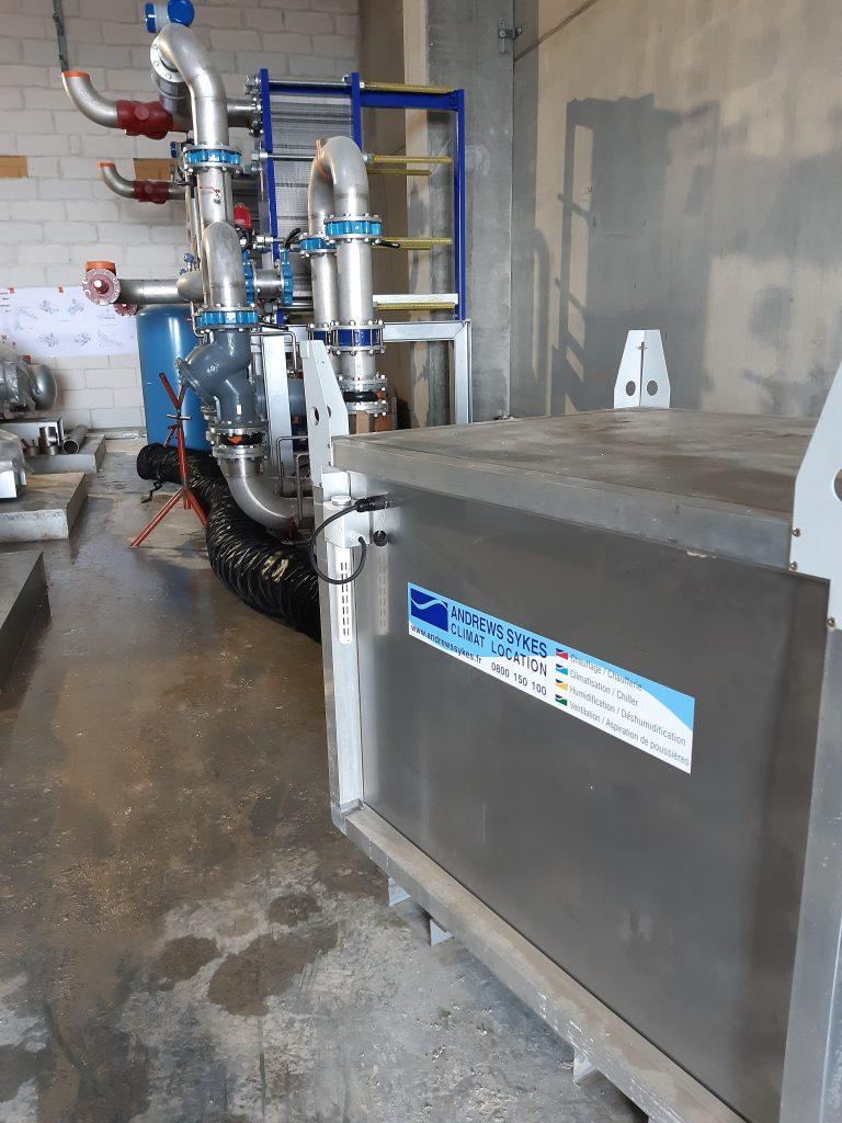 Andrews Sykes Luxembourg apporte son savoir-faire pour stopper la corrosion de matériels