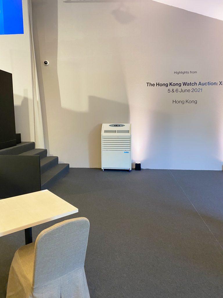 Andrews Sykes Luxembourg met à disposition une solution de climatisation pour une vente aux enchères !