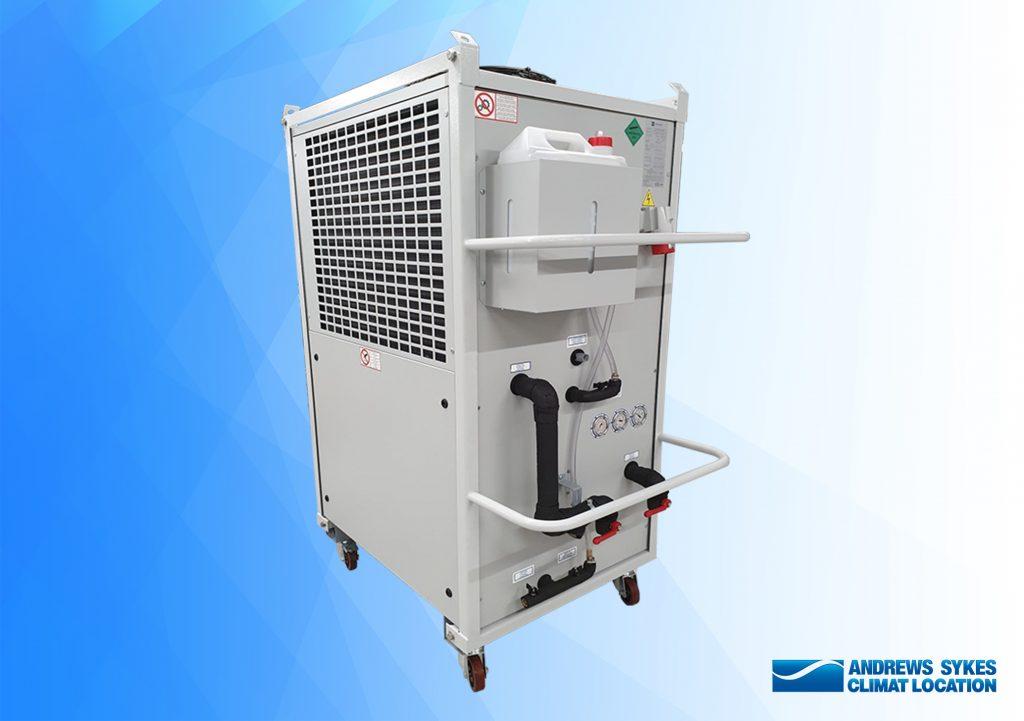 Nouveau refroidisseur de 15 kW introduit dans notre flotte