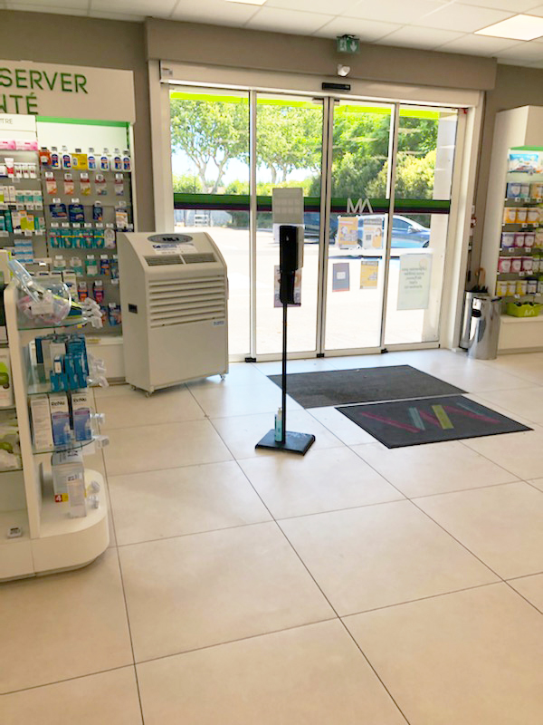 Pharmacie : location de climatiseurs mobiles en urgence