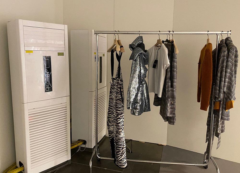 Climatisation sur mesure pour une célèbre maison de couture